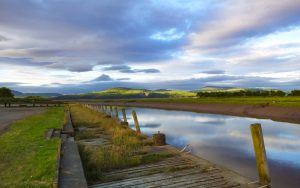 Wigtown Harbour - Rising Tide at Sundown2