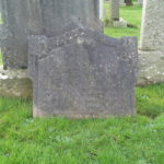 Gravestone of Gunner Adam Horner
