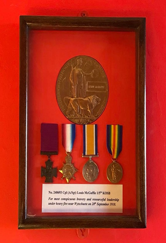 Louis McGuffie VC Medal